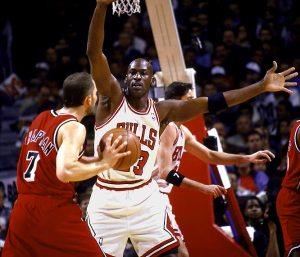 Michael Jordan, master of defense