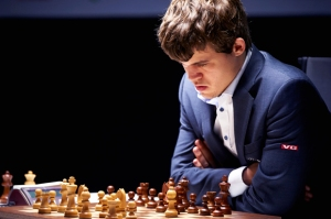 Photo Caption: Magnus Carlsen (1991-   ), a Norwegian chess grandmaster and the No. 1 ranked player in the world