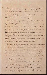 The Hay copy, with Lincoln's handwritten corrections