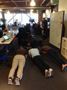 Meetings on floor