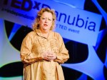 Margaret Heffernan speaking at TEDxDanubia
