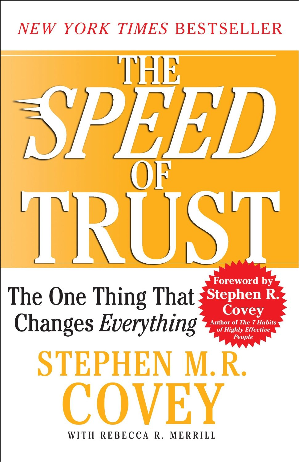 the speed of trust reflection paper A key influencer of service quality is the speed of information interchange between the supplier and the customer  this paper investigates how the risk and trust.