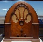 Philco Cathedral Radio ()My current home office radio is in/through my iMac