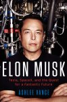 Elon Musk is one of the two books on this month's list published in 2015