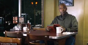Denzel Washington (The Equalizer) reading