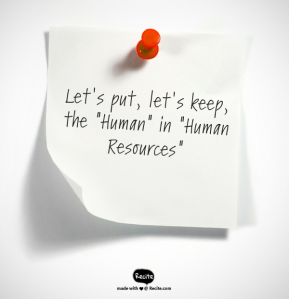"""Human"" Resources"