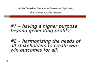 Conscious Capitalism Four Key Tenets copy