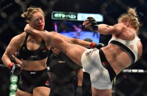 Down goes Rousey