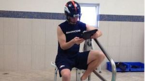 Manning Studying Film