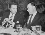Henry Ford II Speaking with Walter Reuther
