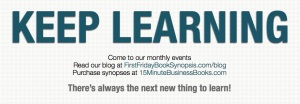 """Keep Learning"" is on the back side of our bookmarks - Click on image of full view"