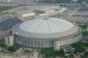 The Astrodome - got there early!