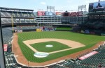 "The ""no-longer-new"" current home of the Rangers"