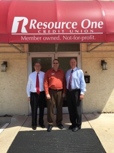 Randy Mayeux, Phillip Crocker, Karl Krayer at Resource One