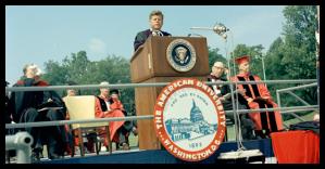 JFK, American University
