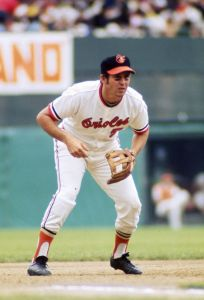 Brooks Robinson - at the ready
